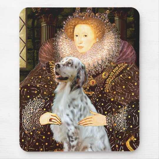 EnglishSetter 1 - Queen Mouse Pad