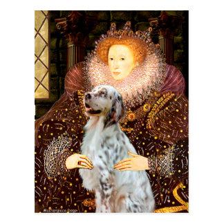 EnglishSetter 1 - Queen Postcard