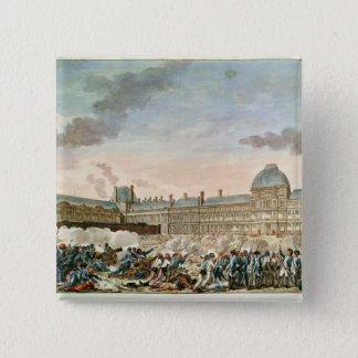 Engraved by Isidore Stanislas Helman 15 Cm Square Badge