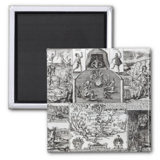Engraved by Robert Vaughan Square Magnet