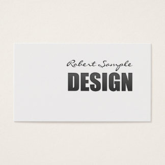 Engraved Design Business Card