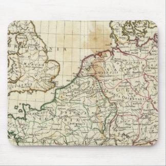 Engraved Map of Europe Mouse Mat