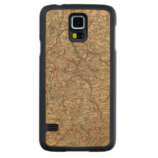 Engraved map of France Carved Maple Galaxy S5 Case