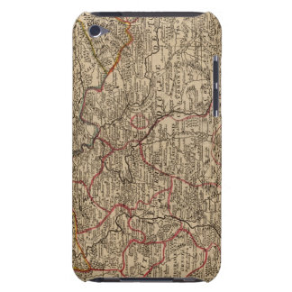 Engraved map of France Case-Mate iPod Touch Case