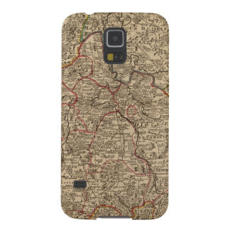 Engraved map of France Galaxy S5 Cases