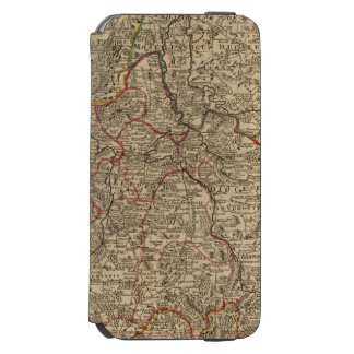 Engraved map of France Incipio Watson™ iPhone 6 Wallet Case