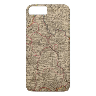Engraved map of France iPhone 8 Plus/7 Plus Case