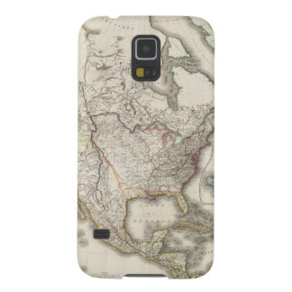 Engraved Map of North America Galaxy S5 Cover