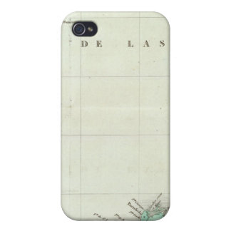 Engraved Map of Panama Cases For iPhone 4