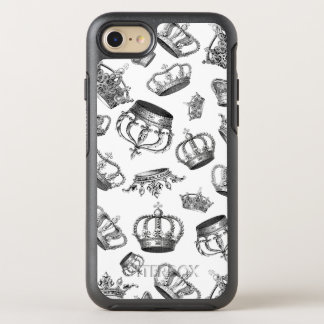 Engraved Royal Crowns OtterBox Symmetry iPhone 7 Case