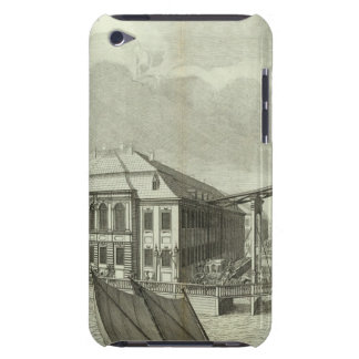 Engraved View of Saint Petersburg 4 iPod Touch Case