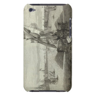 Engraved View of Saint Petersburg 4 iPod Touch Case-Mate Case