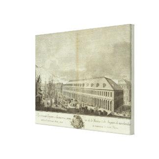 Engraved View of Saint Petersburg 6 Canvas Print