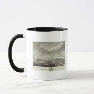 Engraved View of Saint Petersburg 6 Mug