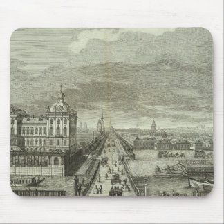 Engraved View of Saint Petersburg Mouse Mat