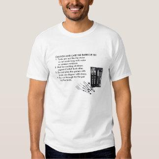 ENGRISH: Barbecue chef's warning Shirt