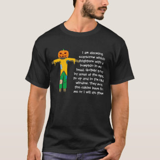 ENGRISH Halloween: Alarming Scarecrow T-Shirt