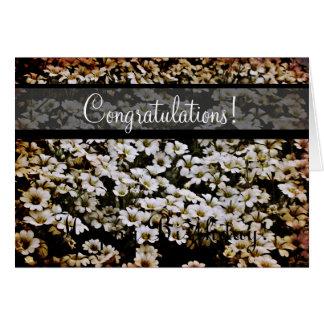 Enhanced Dasies Congratulations! Greeting Card