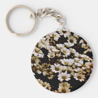 Enhanced Dasies Floral Key Chains