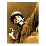 (enhanced) grenade thrower World War 2 photo Postcard