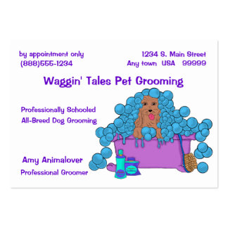 Enhanced Grooming Appointment And Business Card
