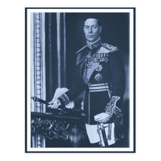 (enhanced) King George VI of the United Kingdom Postcard