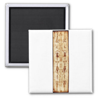 ENHANCED Shroud of Turin full image Jesus Christ Magnet
