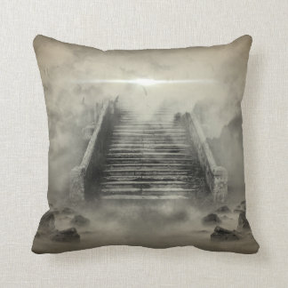 Enigmatic Stairway To Heaven Pillow
