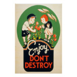 Enjoy, Don't Destroy Poster
