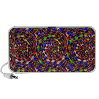 Enjoy INFINITY Art Circles Chakra Energy Healing Notebook Speakers