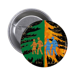 ENJOY LIFE :  Day n Night 6 Cm Round Badge