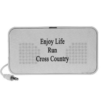 Enjoy Life Run Cross Country iPhone Speaker