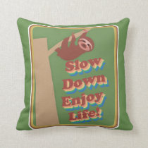 Enjoy Life Sloth Cushion