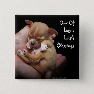 Enjoy Life's Little Blessings 15 Cm Square Badge