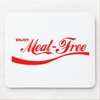 Enjoy Meat-free Mouse Pad