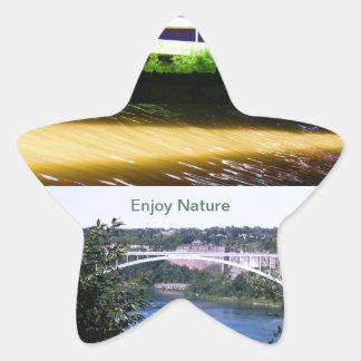 Enjoy Nature Walk Star Sticker