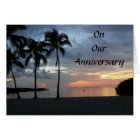 ENJOY OUR ANNIVERSAY-SUNRISE TO SUNSET CARD