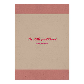 Enjoy paper greeting with Original brand 13 Cm X 18 Cm Invitation Card