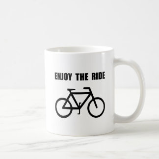 Enjoy Ride Bike Basic White Mug