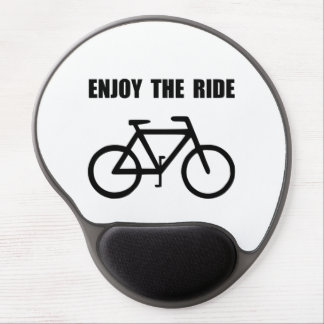 Enjoy Ride Bike Gel Mouse Pad