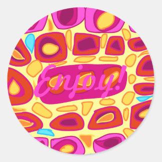 Enjoy! Sticker