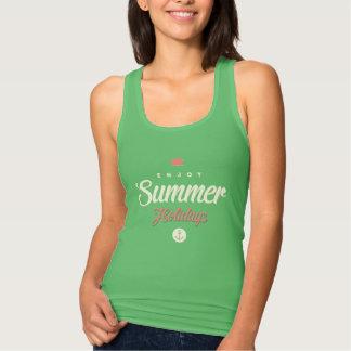 Enjoy summer holiday Women's Tank Top