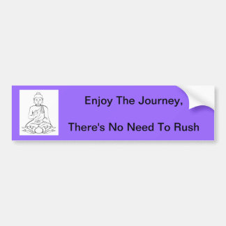 Enjoy The Journey - Bumper Sticker