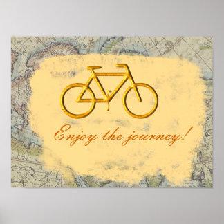 Enjoy the journey print