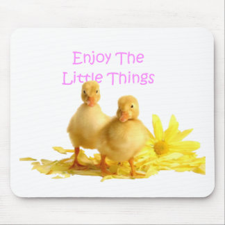 Enjoy The Little Things, Ducklings Mouse Mat