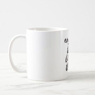 Enjoy the little things - Inspirational Quote Coffee Mug