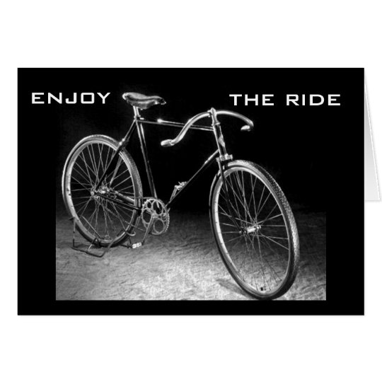ENJOY THE RIDE AND YOUR BIRTHDAY CARD