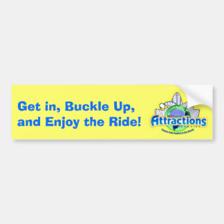 Enjoy the Ride! Bumper Sticker
