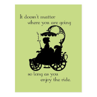 Enjoy the Ride Post Cards