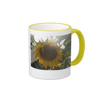 Enjoy the SUN(flower)...-> Ringer Mug